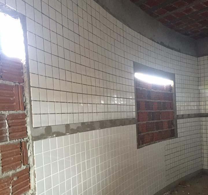 Obras do santuário estão em fase de acabamento (Foto: Reprodução/Facebook)