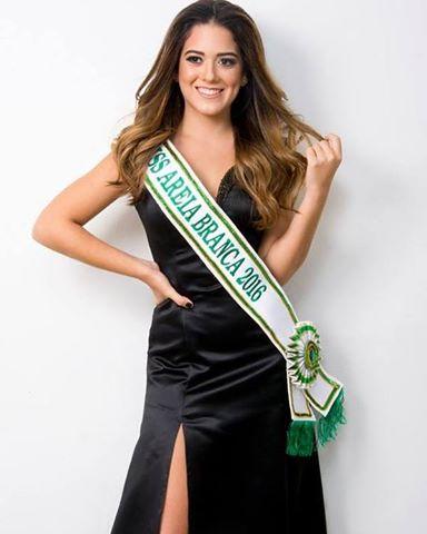 A bela Miss Areia Branca 2016, Stefanny Maia