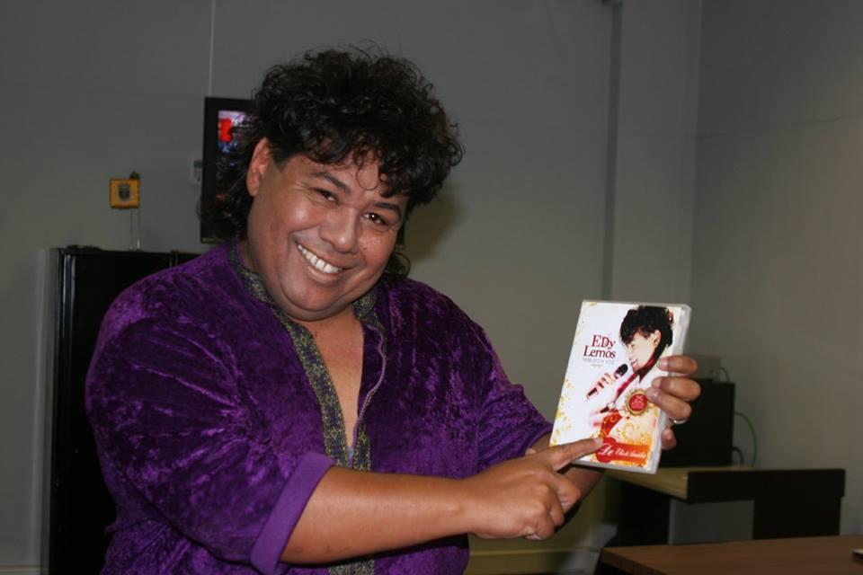 Edy Lemos é um cantor bastante conhecido (Foto: Reprodução/Facebook)