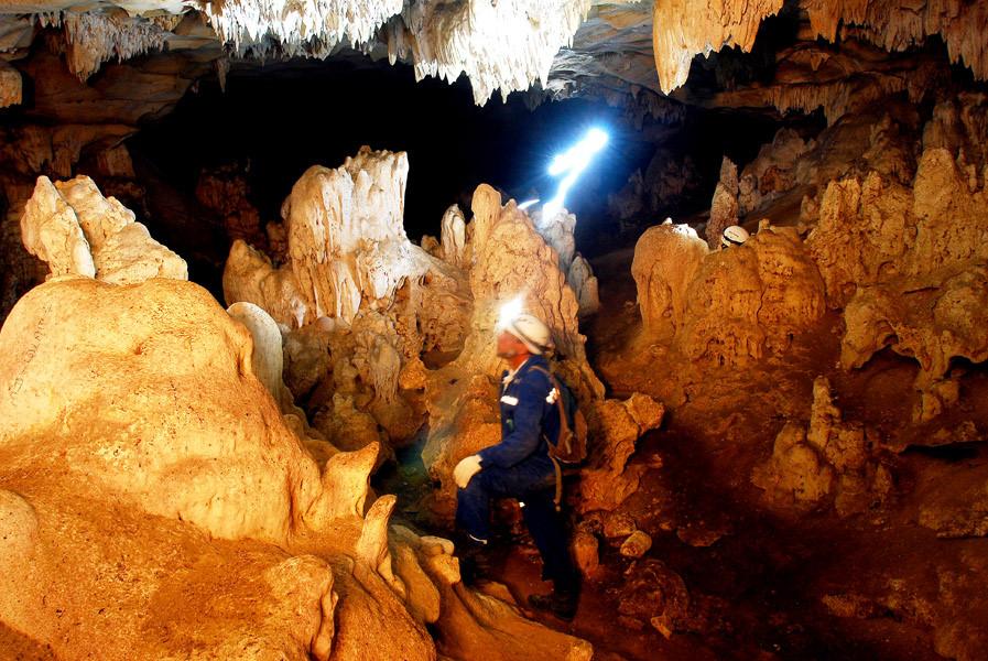 Furna Feia, maior parque nacional de cavernas do Brasil (Foto: André Pessoa)