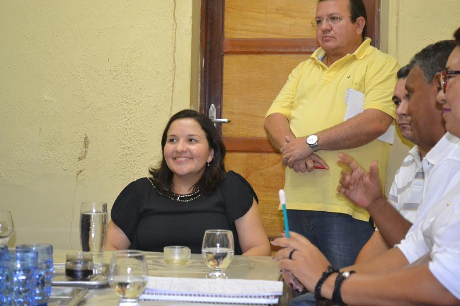 Lidiane Garcia disse que diálogo com os auxiliares será permanente