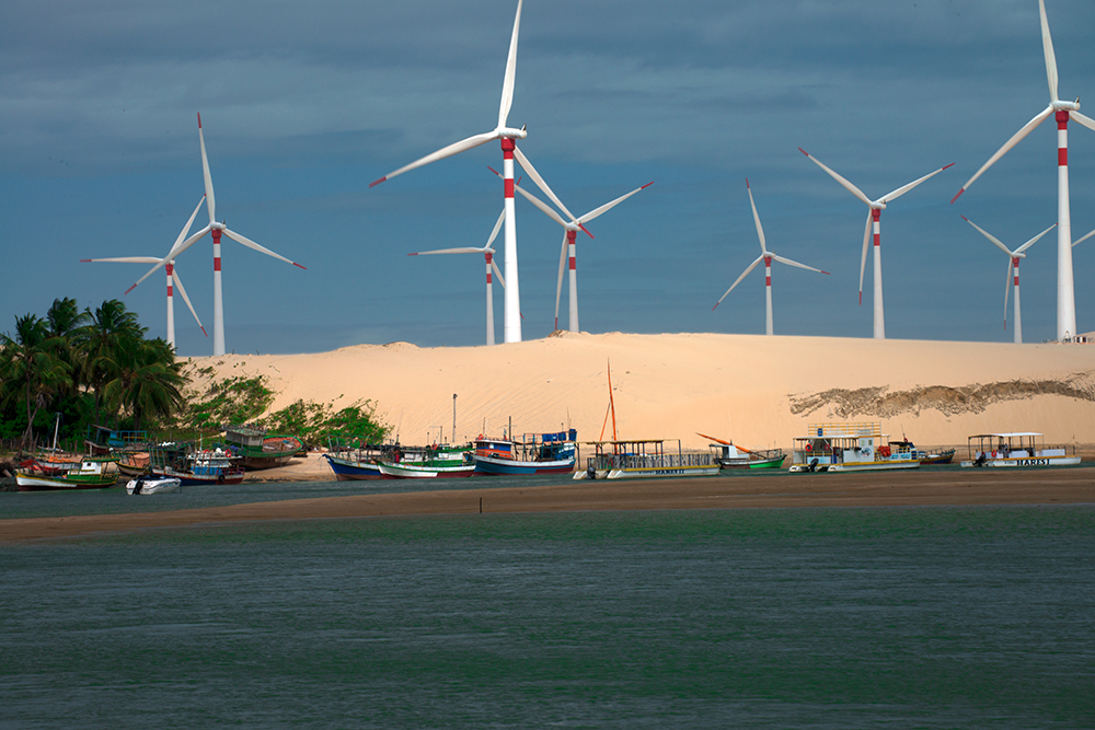 Setor eólico continua gerando oportunidades de trabalho (Foto: Reprodução)