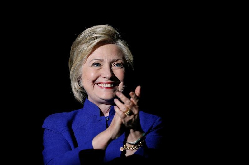 Hillary Clinton garantiu indicação como candidata do Partido Democrata à disputa pela Presidência dos Estados Unidos (Foto: Lucy Nicholson/Reuters)