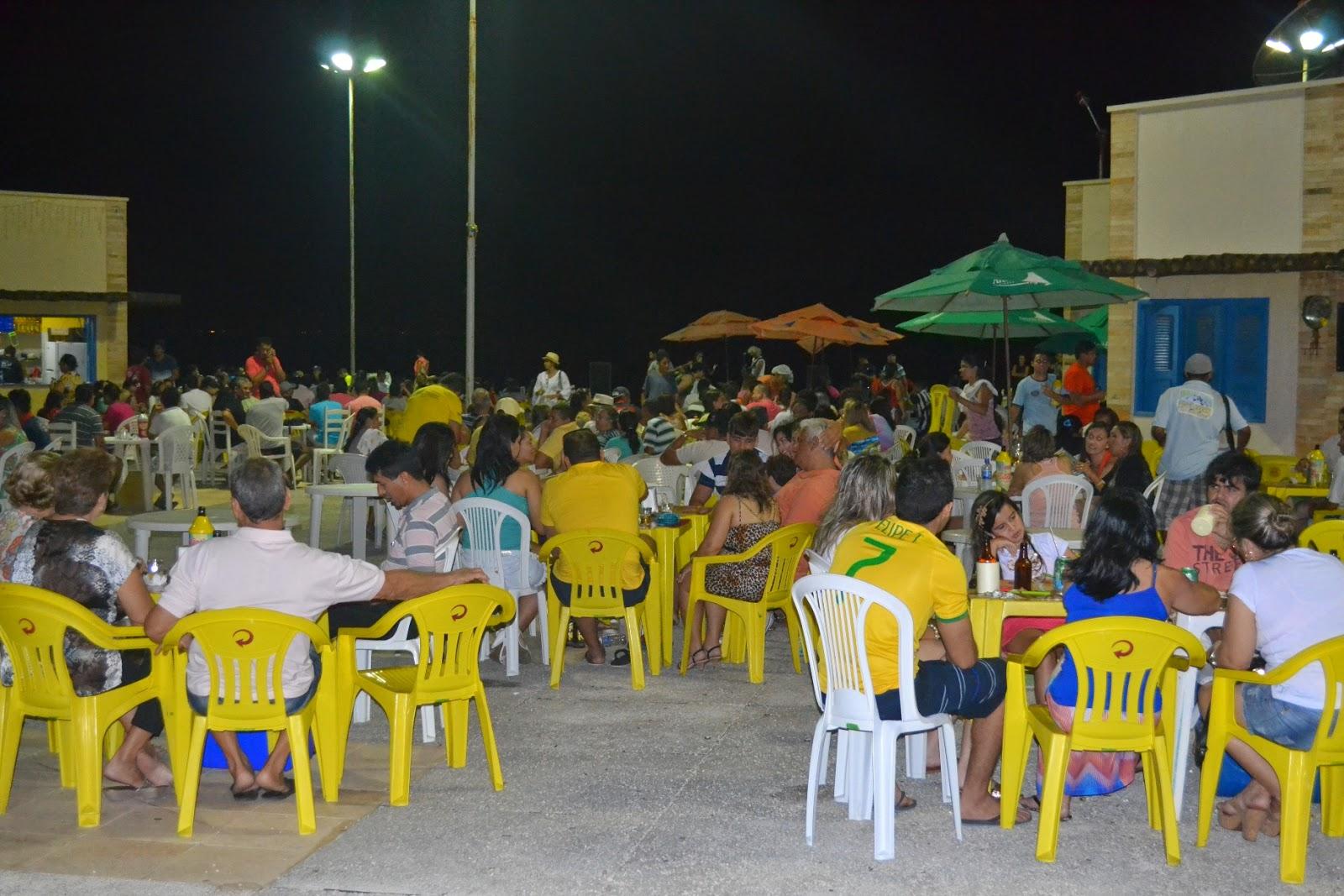 Evento já se tornou um ponto de encontro das famílias areia-branquenses (Foto: Erivan Silva)