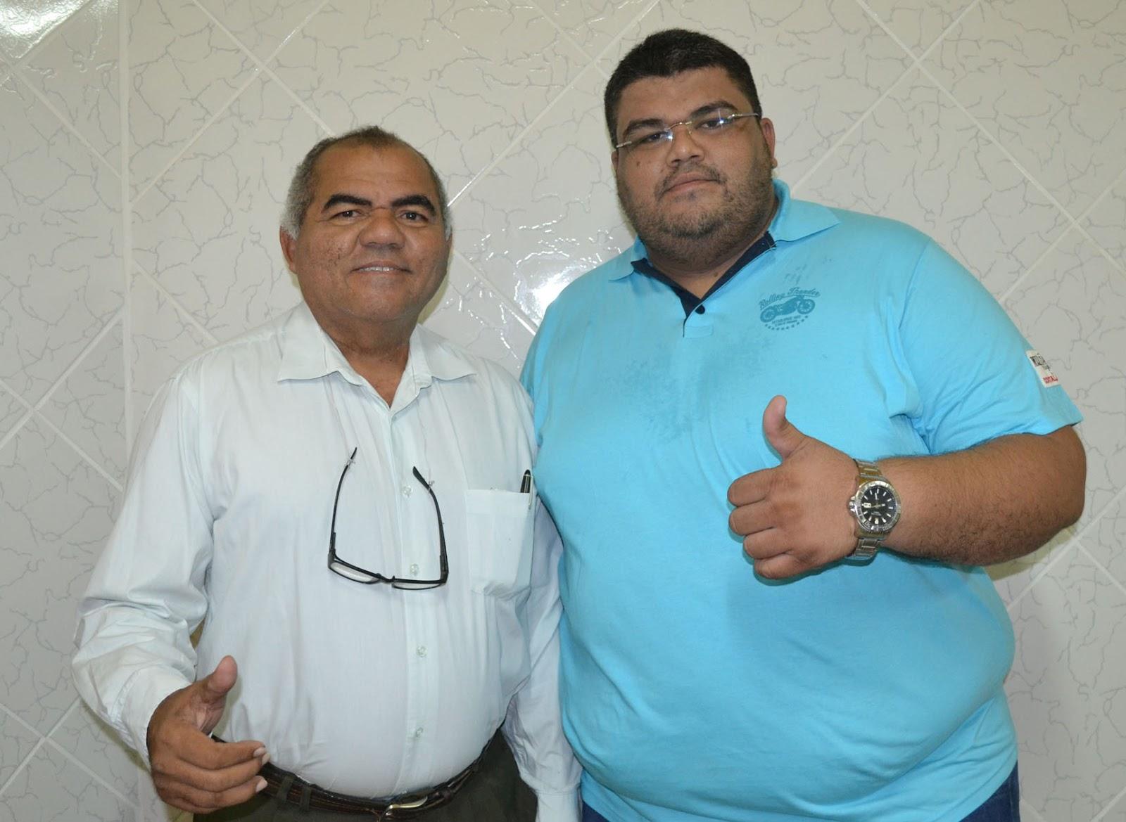 Chiquinho e Oliveira terão nomes oficializados na disputa pela prefeitura (Foto: Erivan Silva)