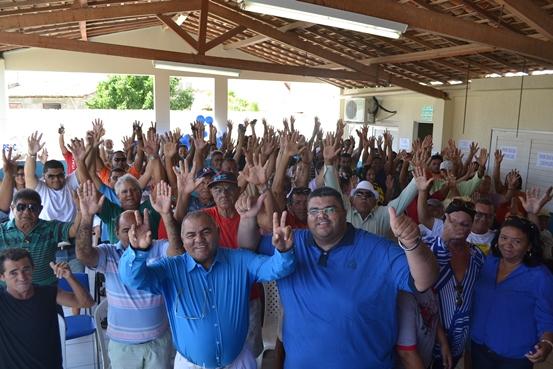 Em destaque Chiquinho Cotador e Oliveira, na convenção do PSDC