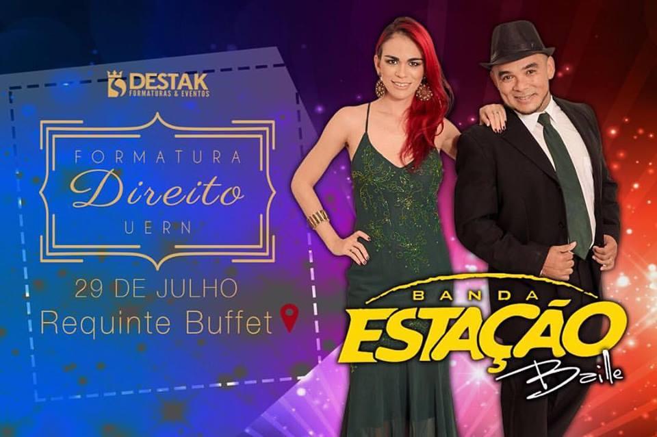 Fernanda também integra a Banda Estação Baile, de Mossoró