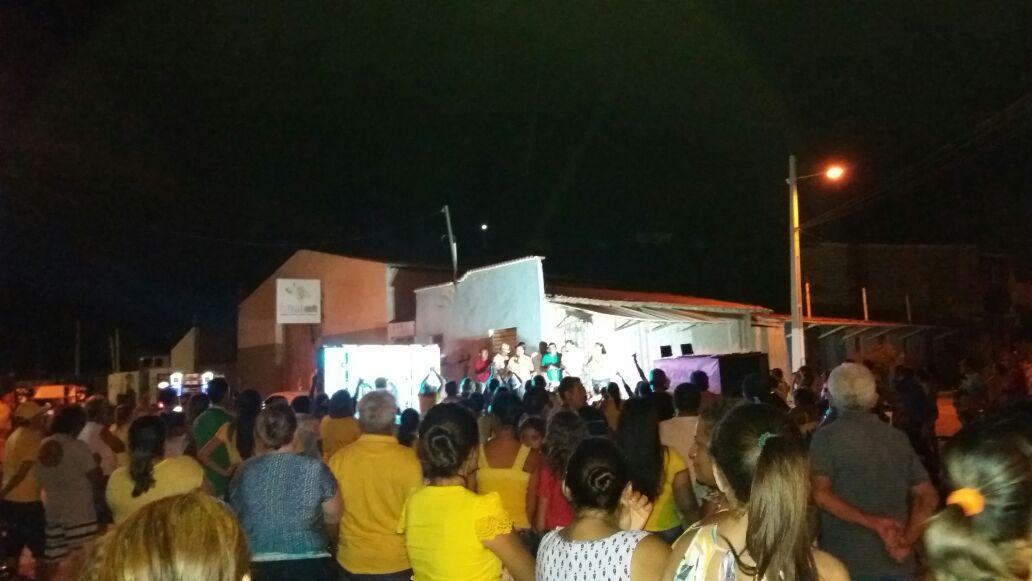 Visita de Toninho e Sandro terminou numa grande movimentação (Foto: Divulgação)