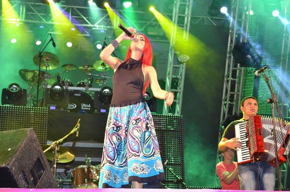 Fernanda Azevedo promete um grande show na noite de hoje (Foto: Arquivo pessoal/Facebook)