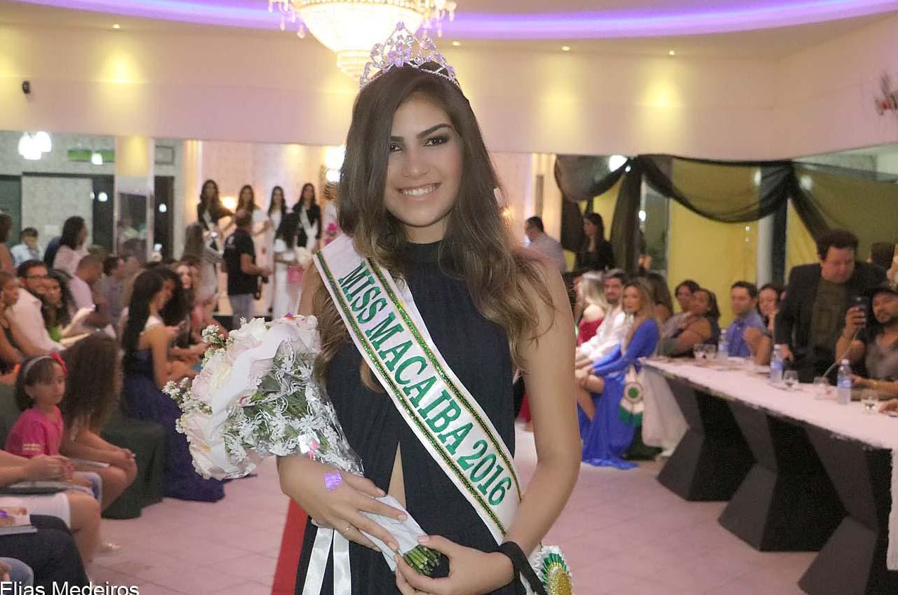 Aysla Góis, Miss Macaíba 2016, terceira colocada (Foto: Elias Medeiros)