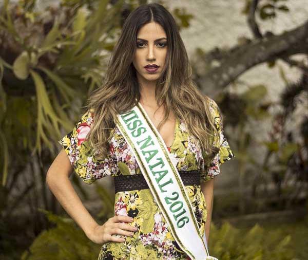 Miss Natal 2016, Manuela Banhos, segundo lugar (Foto: Carlos Neto)