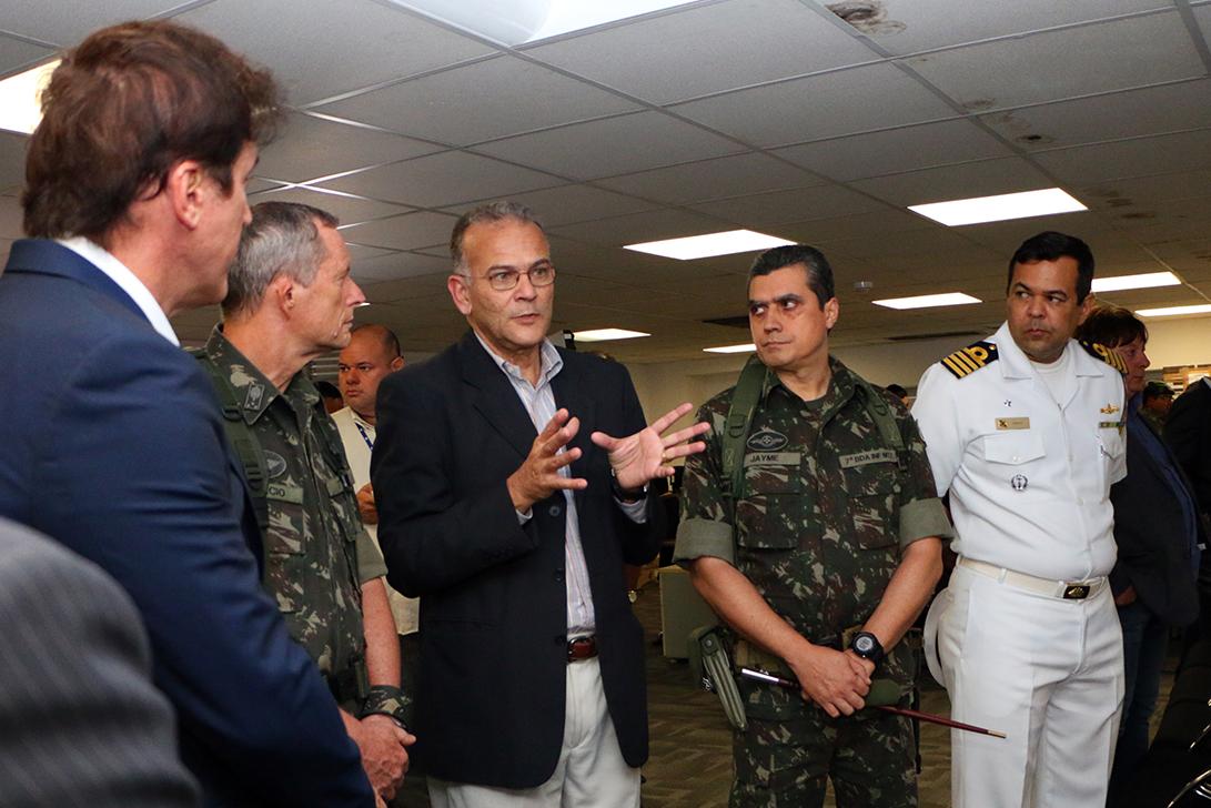 General Ronaldo Lundgren enfatizou que vai intensificar as medidas para que a situação seja resolvida o mais rápido possível