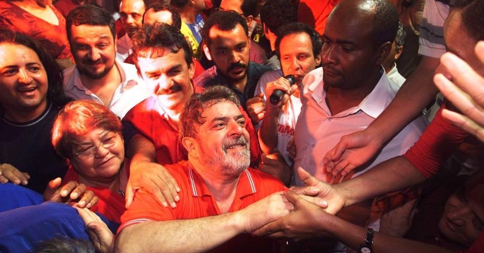 Após sucessivas derrotas Lula encontrou o caminho da vitória com mudança no marketing (Foto: Reprodução)