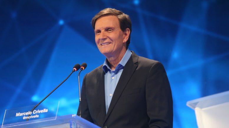 Marcelo Crivella segue na liderança, no Rio (Foto: Reprodução)