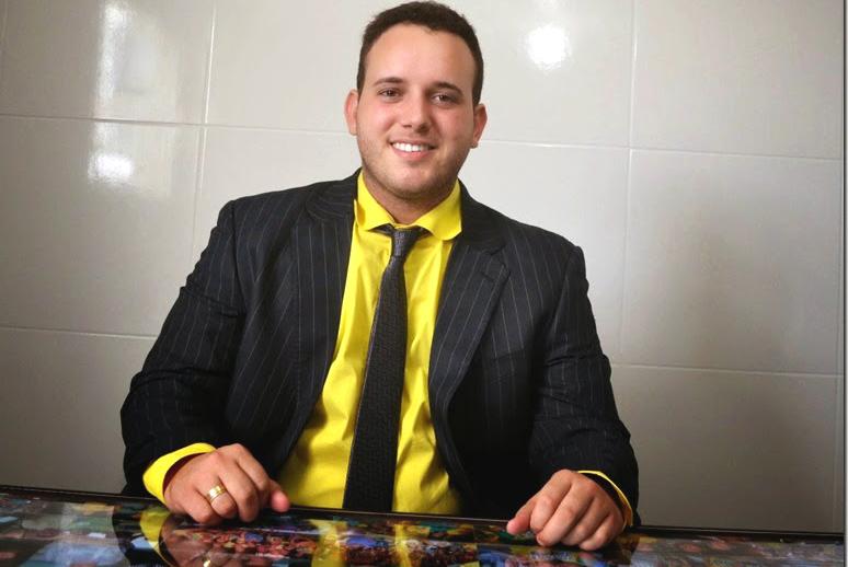 """""""Netinho Cunha"""" é o presidente do Legislativo municipal (Foto: Erivan Silva)"""