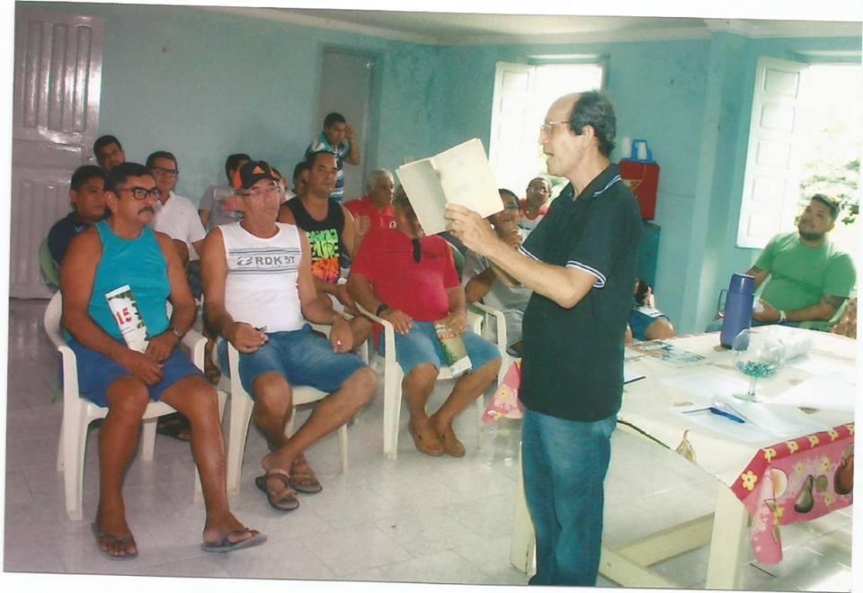 Francisco Ventura mais uma vez sai em defesa da classe marítima (Foto: Arquivo pessoal)
