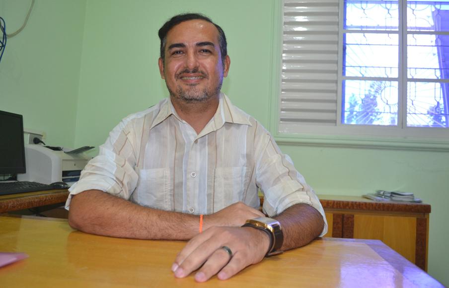 Secretário Oliveira Júnior ultima preparativos para o bom rendimento da campanha (Foto: Erivan Silva)