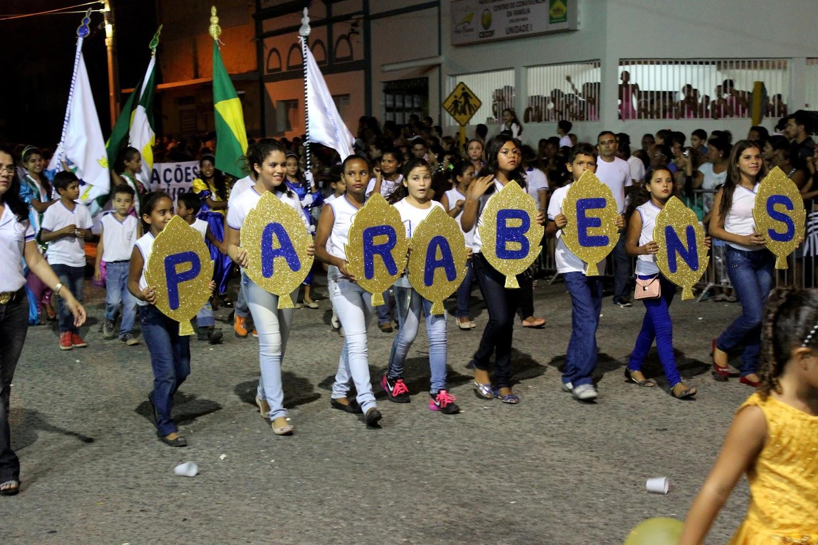 Desfile cívico deste sábado começará às 17h em ponto (Foto: Reprodução/Jailton Rodrigues)