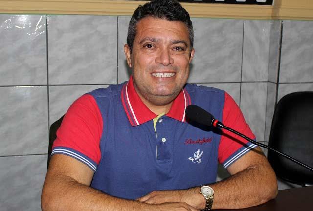 Aldo Dantas, vereador eleito pelo partido tucano em Areia Branca, este ano (Foto: Jailton Rodrigues)