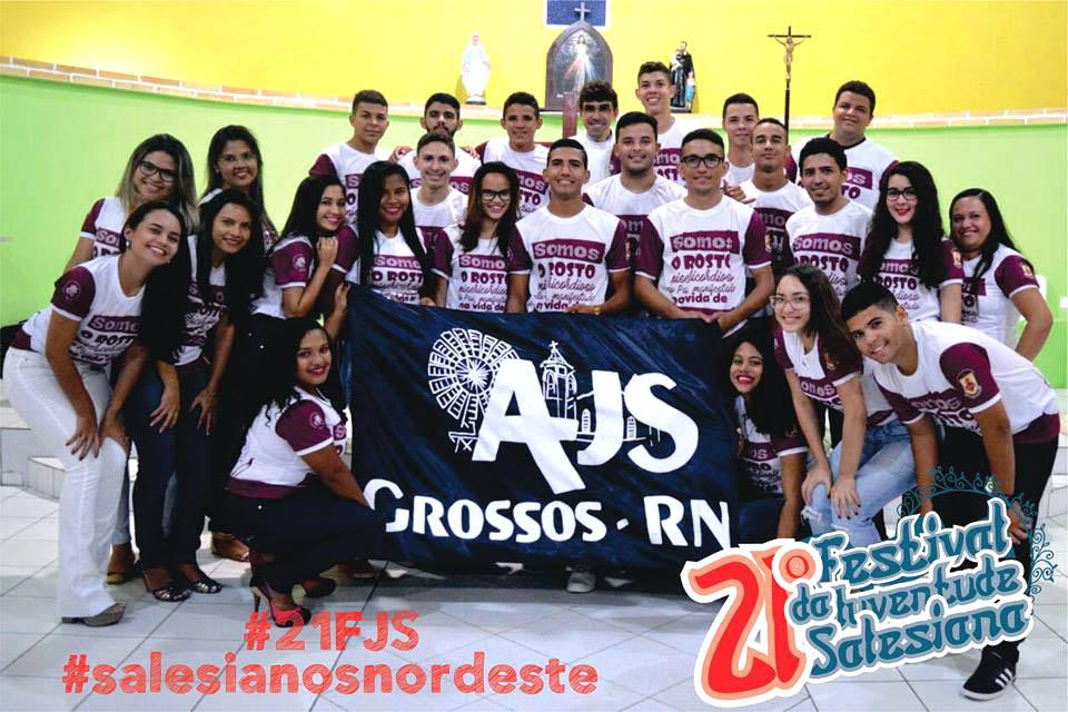 Juventude Salesiana da cidade de Grossos também participa do festival (Foto: Reprodução)