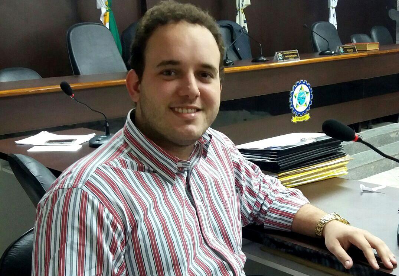 "Vereador ""Netinho Cunha"" preside o Legislativo municipal (Foto: Jailton Rodrigues)"