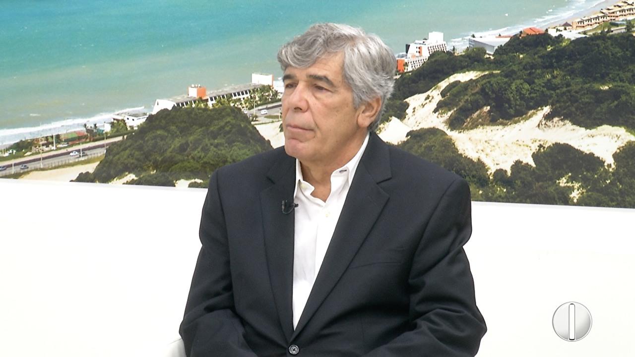 Marconi Barretto é acusado de irregularidades na eleição passada (Foto: Reprodução/InterTV Cabugi)