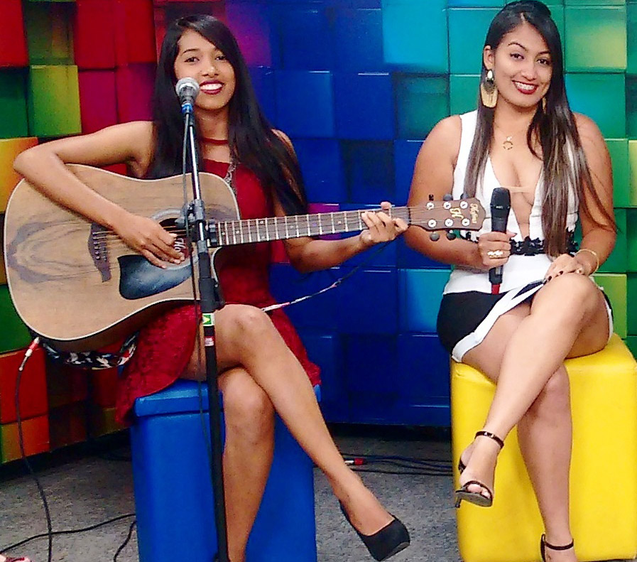 A talentosa dupla As Irmãs Soares será uma das atrações neste domingo (Foto: Divulgação)