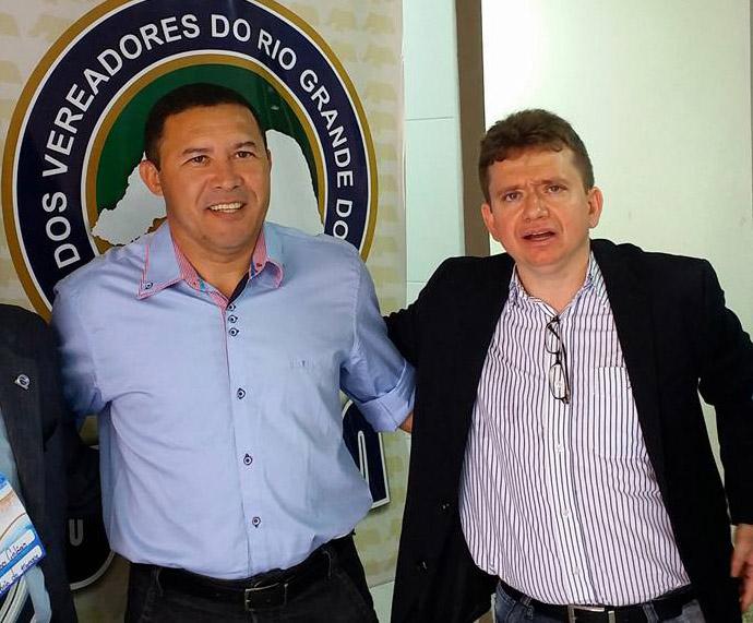 Advogado Aldo Araújo e o juiz Herval Sampaio Júnior serão os ministrantes do curso (Foto: Arquivo pessoal/Facebook)