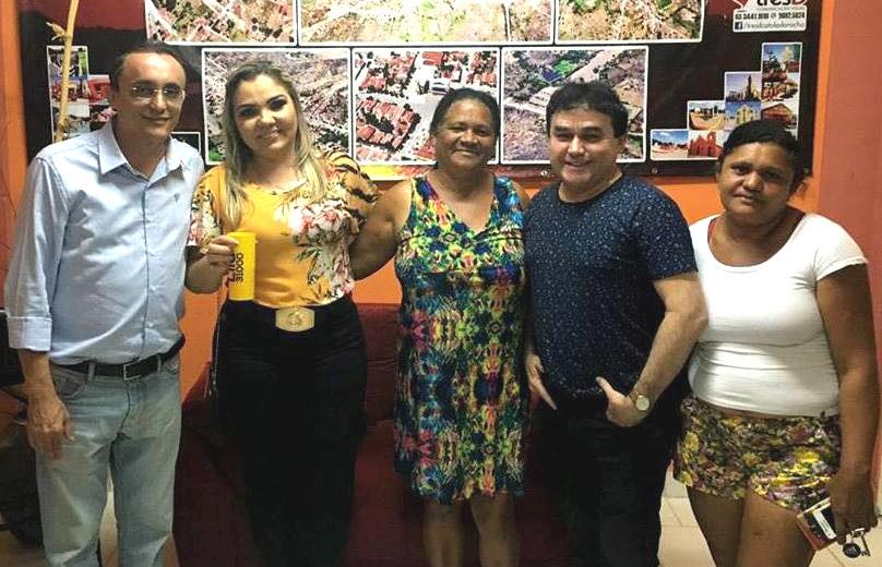 Ex-prefeito Zé Júlio prestigiou o evento