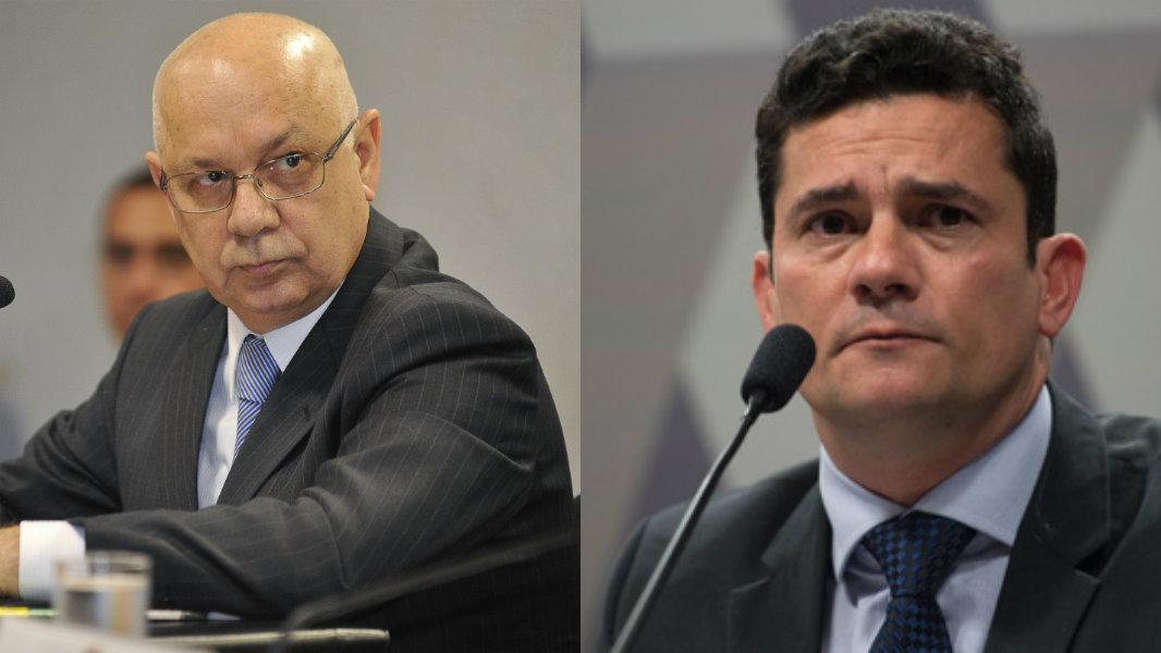Morte de Teori Zavascki chocou o juiz Sérgio Moro (Foto: Reprodução/Isto É)