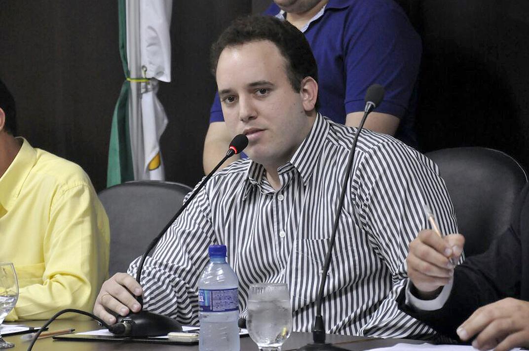 """""""Netinho Cunha"""" quer mais jovens envolvidos com o esporte (Foto: Eduardo Mais/ALRN)"""