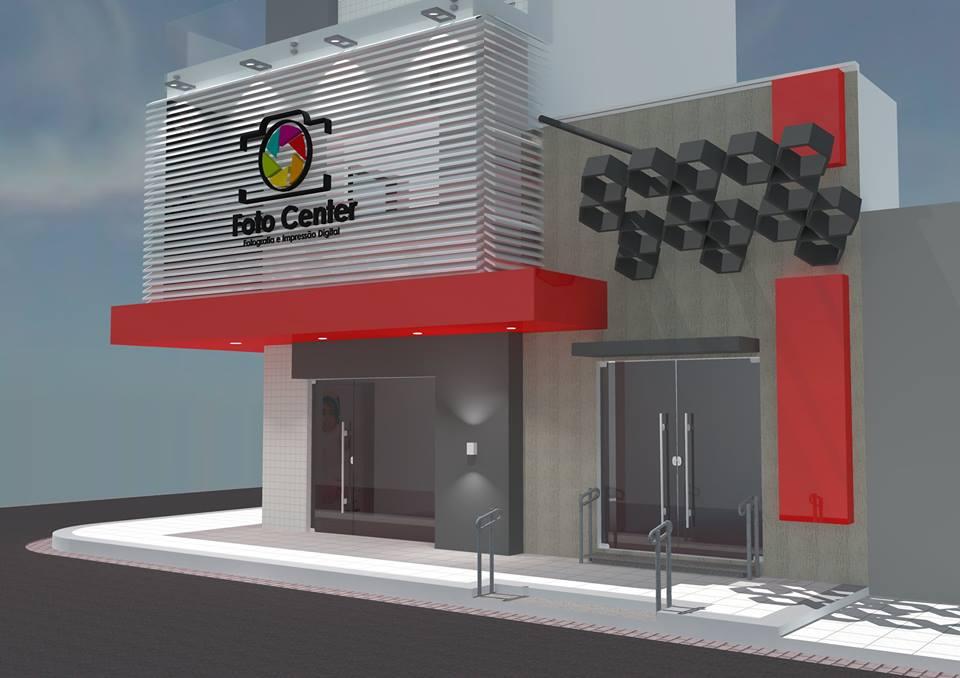 Foto Center ganhará uma nova fachada com traços de modernidade