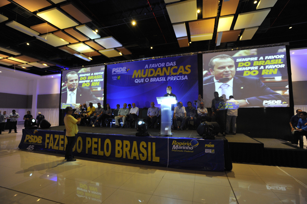 Rogério Marinho disse que o partido está unido pelo fortalecimento do RN