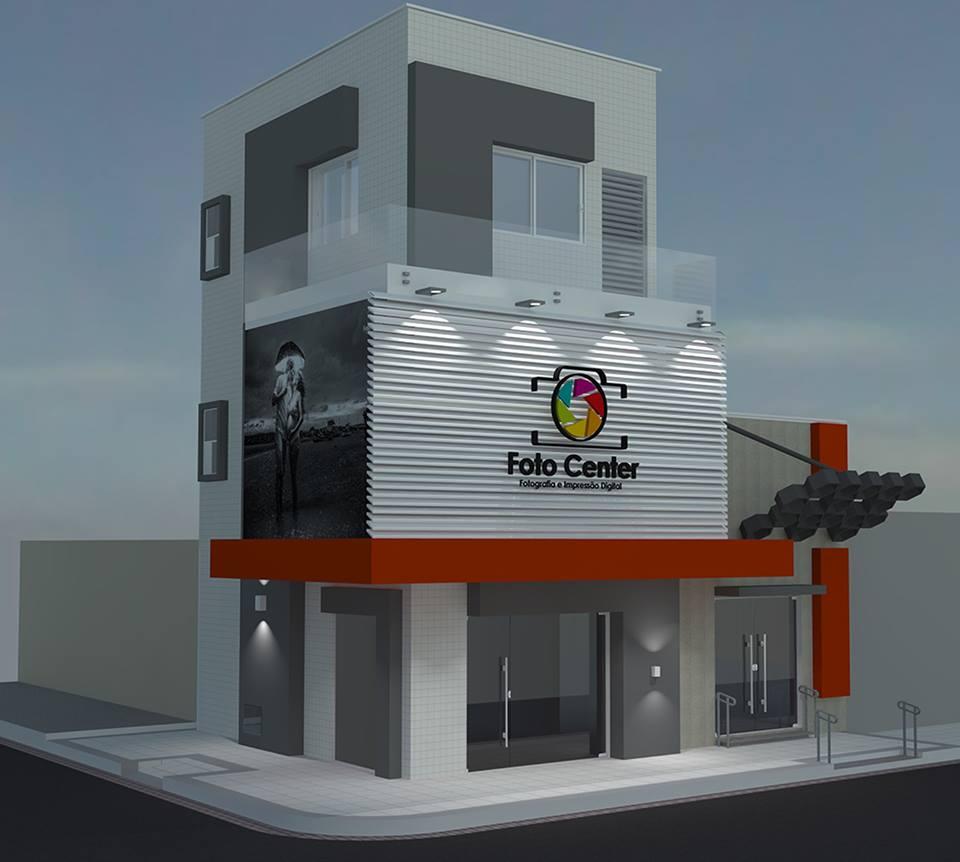 O novo visual do prédio quando o projeto for concluído