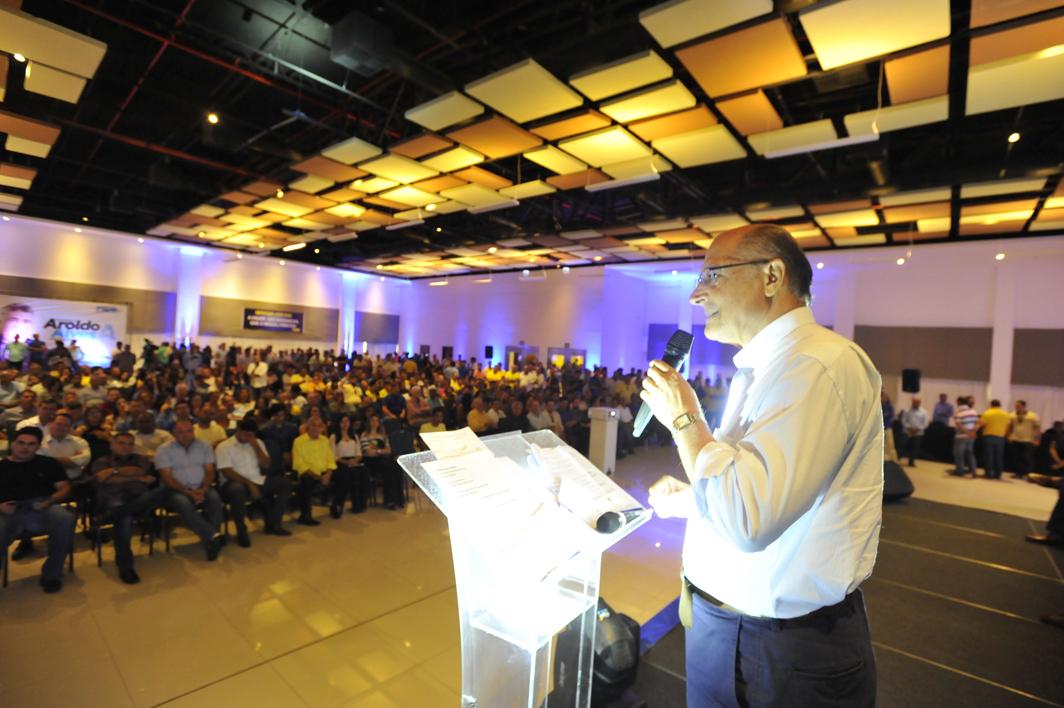 Geraldo Alckmin destacou crescimento do partido no Estado