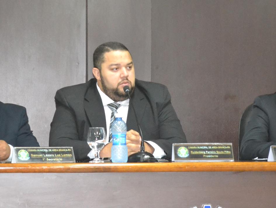 """""""Kinho de Beguinho"""", presidente da Mesa Diretora do Legislativo (Foto: Erivan Silva)"""