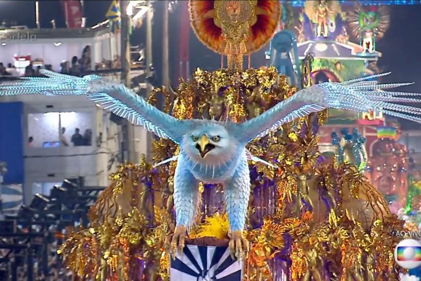 Portela volta a elite do Carnaval carioca (Foto: Reprodução/Rede Globo)