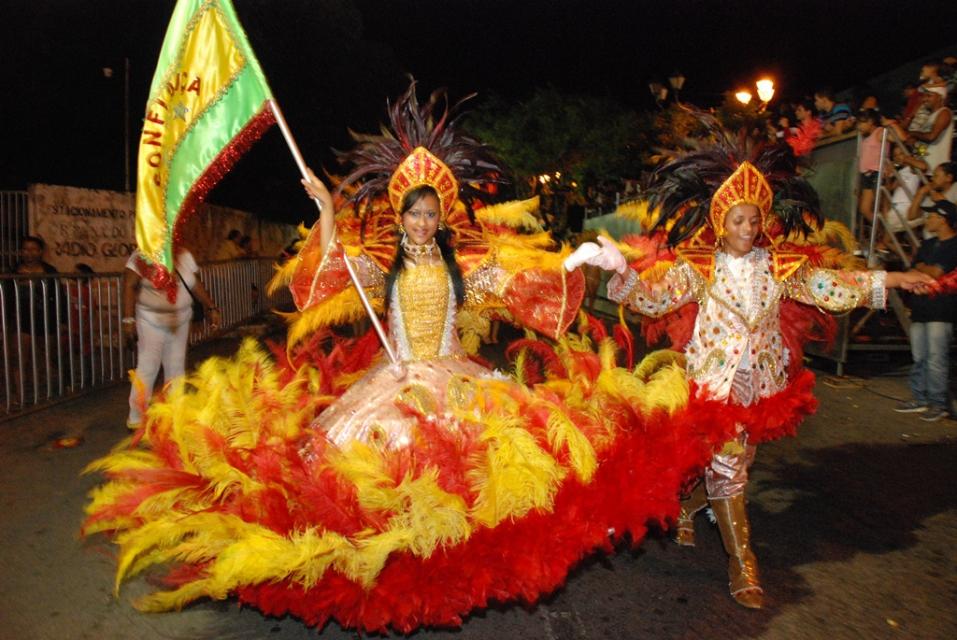 Desfile das escolas de samba é um dos destaques da folia na capital (Foto: Marco Polo)