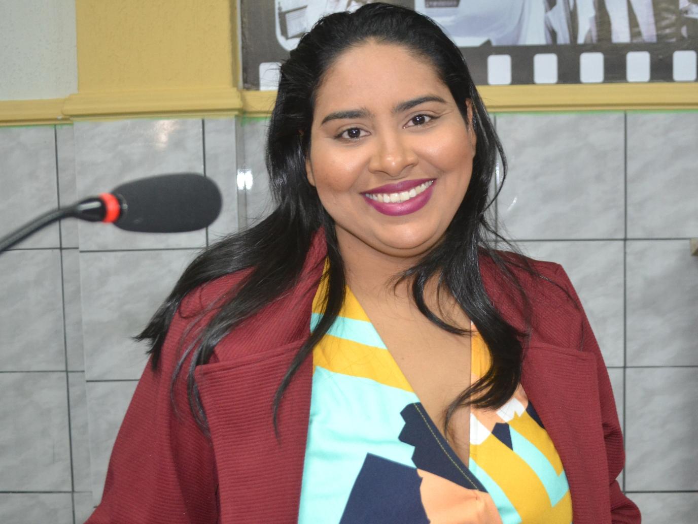 Rebeca Melo sai em defesa dos moradores de Upanema de Cima (Foto: Erivan Silva)