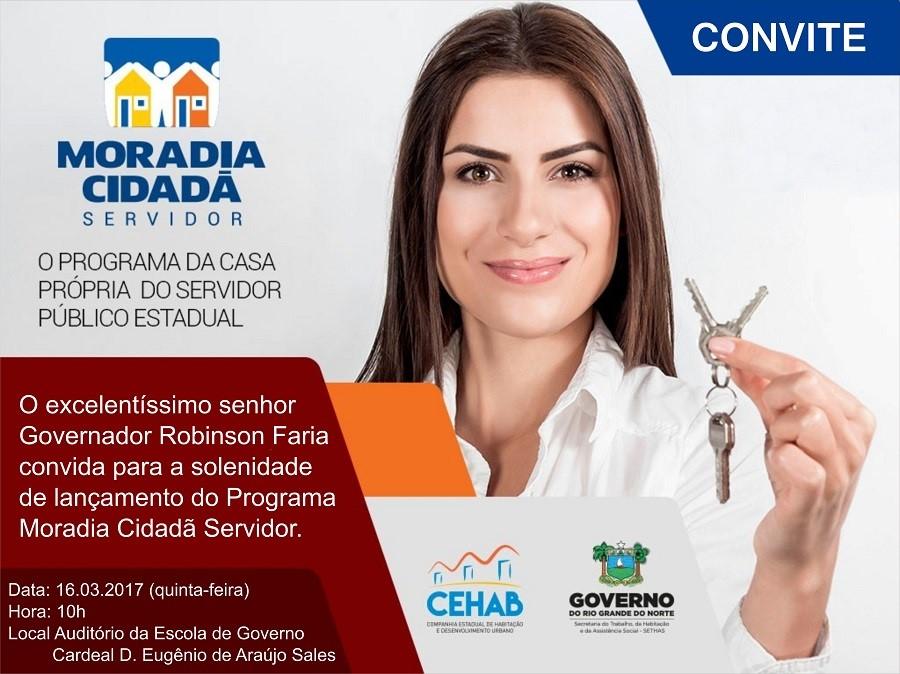 Convite do lançamento do programa nesta quinta-feira (Foto: Divulgação)