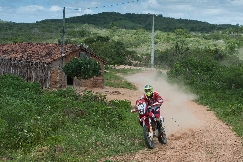 Gregório Caselani Azevedo, atual campeão da prova e brasileiro de Rally Cross Country