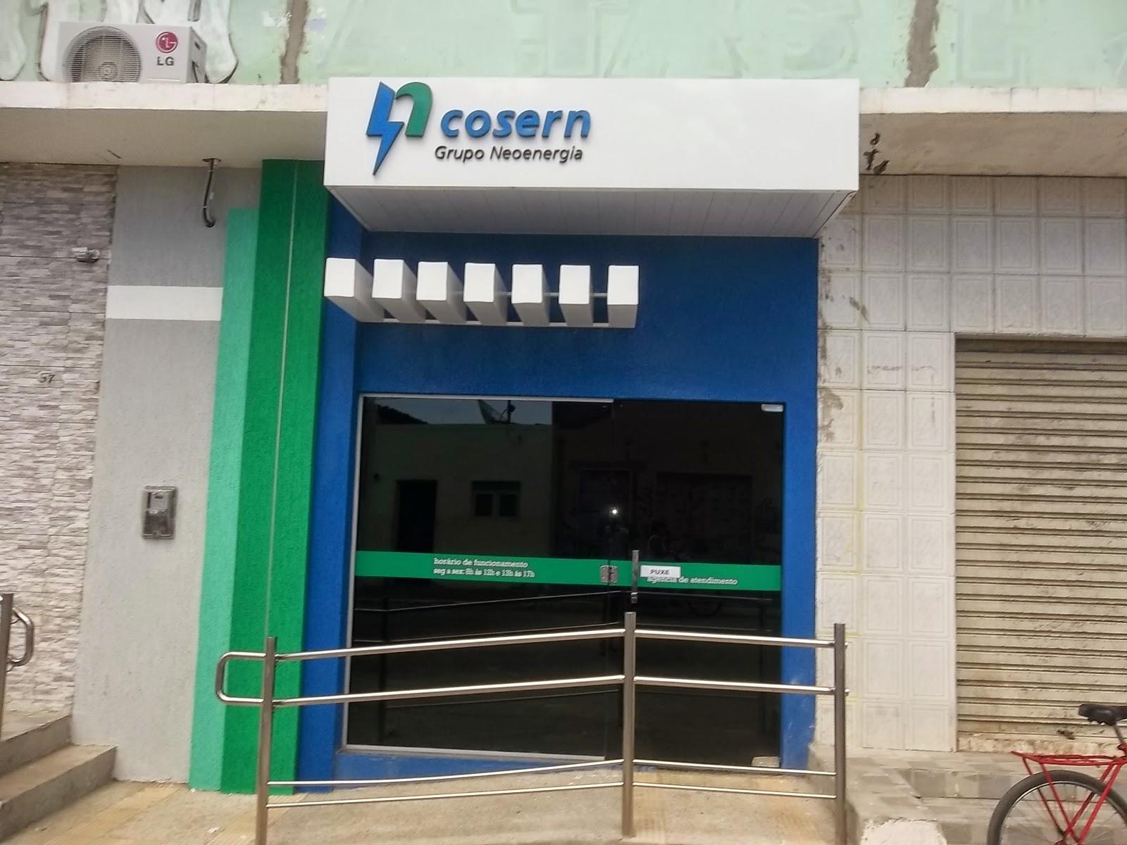 Posto da Rede Cosern Serviços em Areia Branca funciona na rua Calafates (Foto: Reprodução)