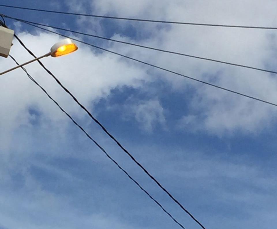 Gestão de Bibiano promoveu reposição de luminárias, pois a cidade estava às escuras