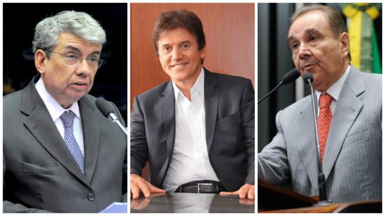 Os potiguares Garibaldi Filho, Robinson Faria e Agripino Mais entre os investigados (Foro: Reprodução)