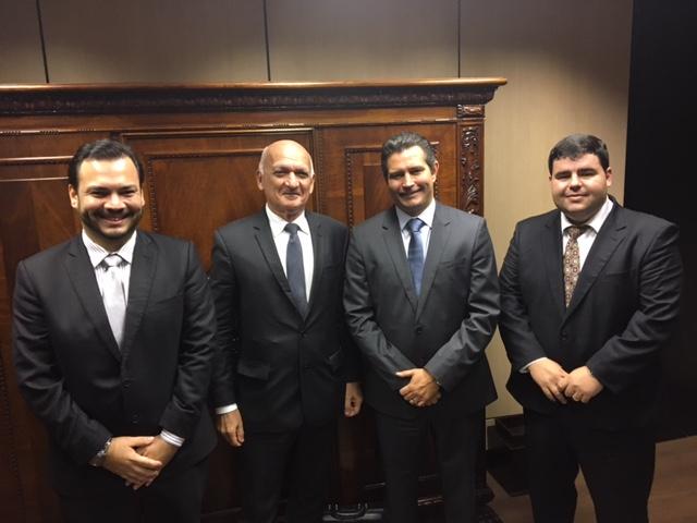 Dirigentes da Codern com o ministro