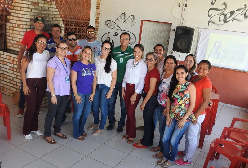 Equipe do Nasf realizou palestras voltadas para os profissionais da Saúde