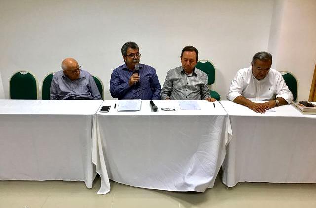 Presidente da Fiern, Amaro Sales de Araújo, defendeu a categoria durante encontro (Foto: Divulgação/Fiern)