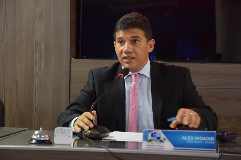 Alex Moacir foi o propositor da audiência pública