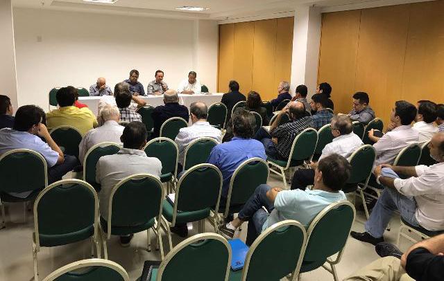 Representantes do setor participaram do encontro (Foto: Divulgação/Fiern)
