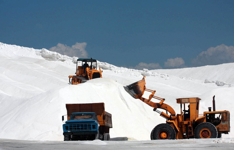 Setor salineiro é gerador de empregos e de destacada importância econômica (Foto: Reprodução)